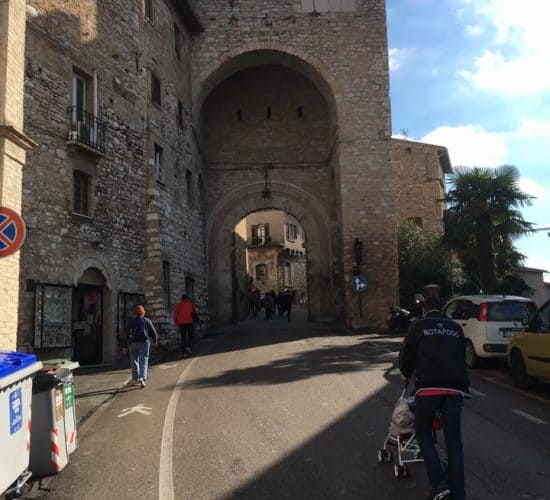 Assisi entrance