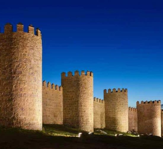 Avila Walls Shrines of Spain pilgrimage
