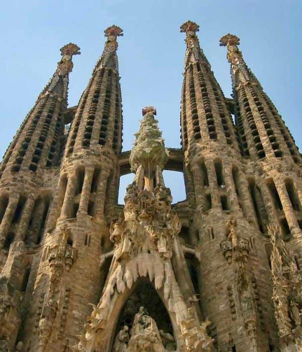 Barcelona Sagrada Familia shrines of spain pilgrimage