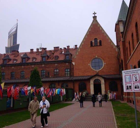 Divine Mercy Faustina Convent 2 Poland
