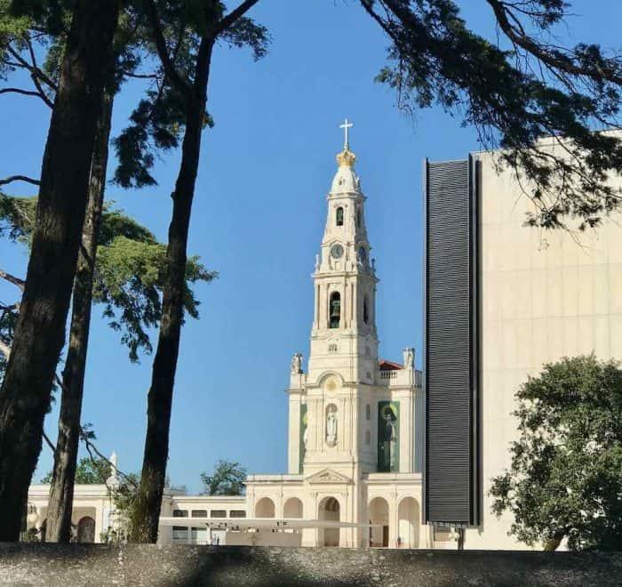 Fatima Basilica france pilgrimage