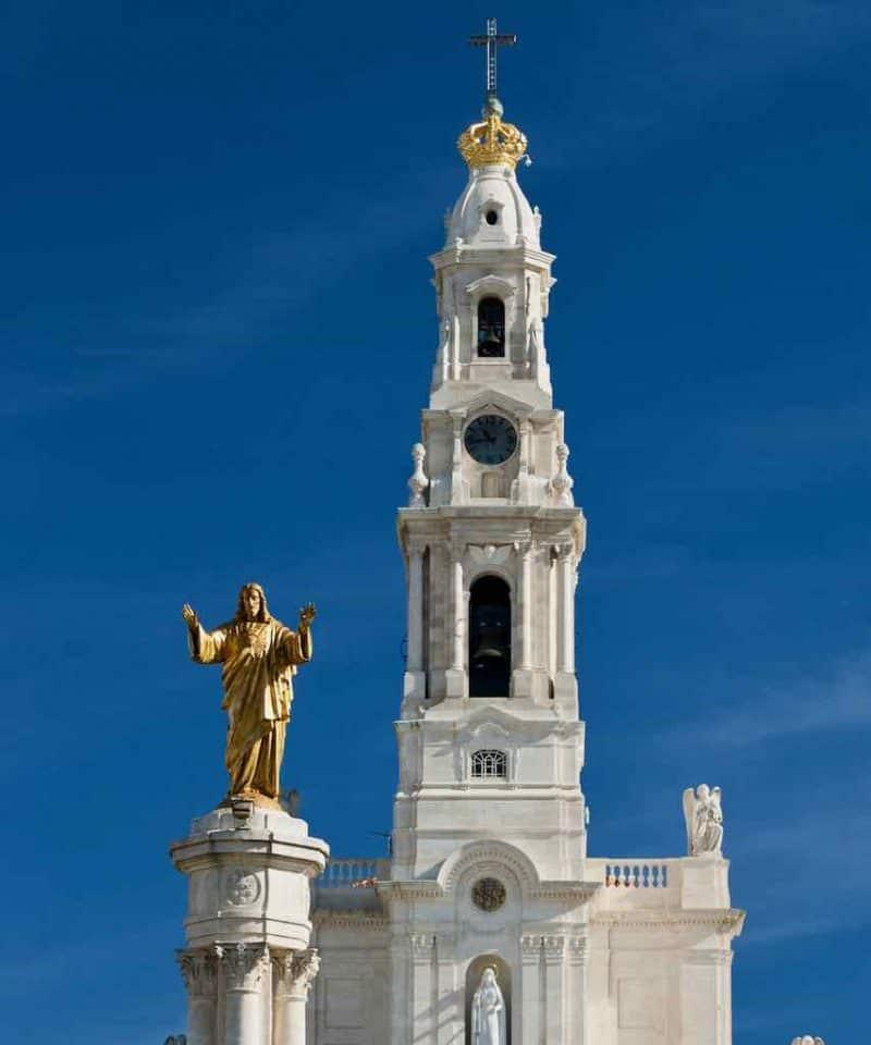 Fatima tower pilgrimage