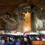 Our Lady of Guadalupe Shrine Interior pilgrims