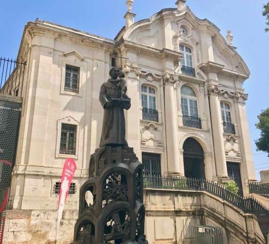 Lisbon St Anthony Church portugal