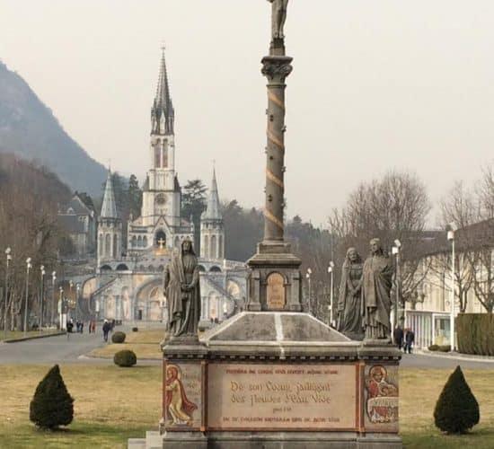 Lourdes winter