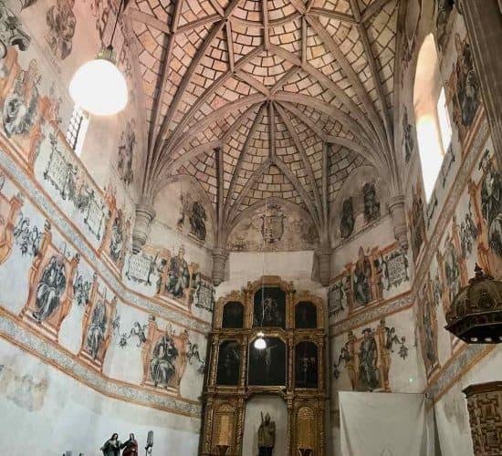 Mexico-Alcolman Monastery Interior