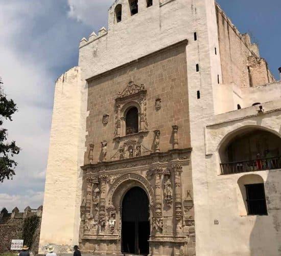 Mexico Alcolman monastery