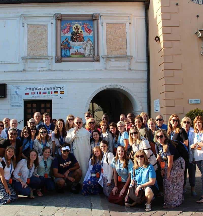 Poland Divine Mercy tour Group