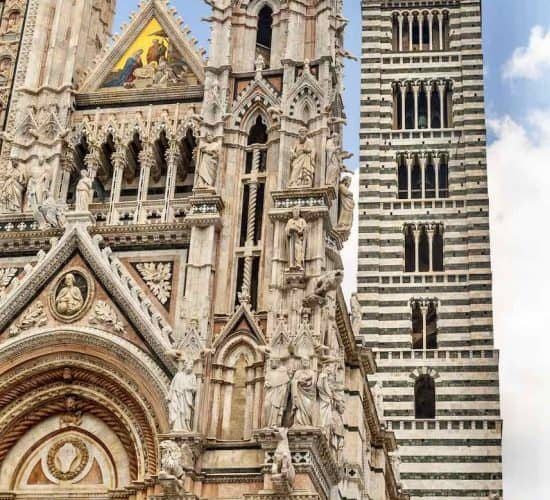 Siena cathedral Italy pilgrimage tour