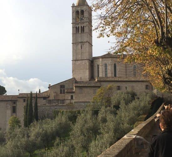 St Clare Basilica Assisi