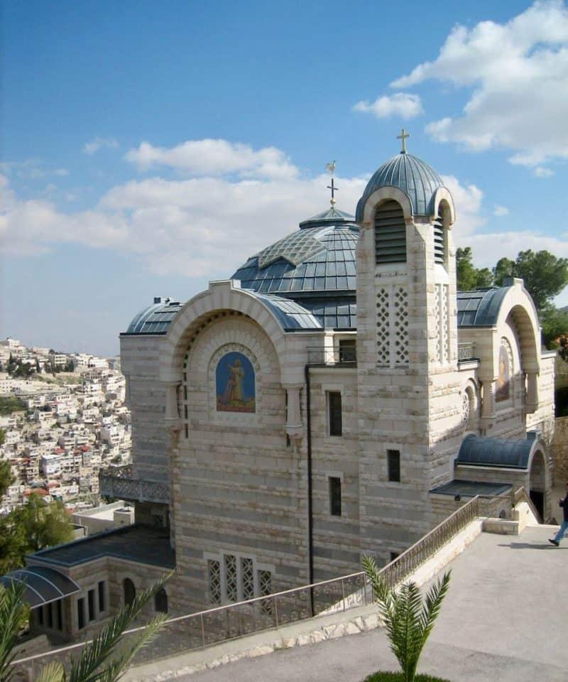 St Peter Galicantu Holy Land pilgrimage