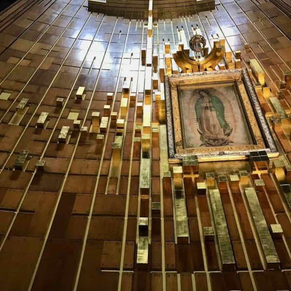 Tilma Our Lady Guadalupe Mexico pilgrimage