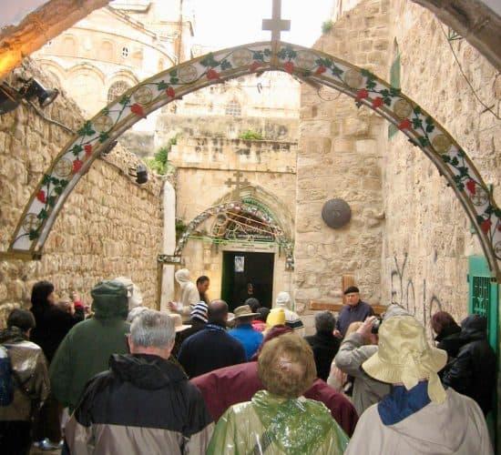 via dolorosa jerusalem pilgrimage