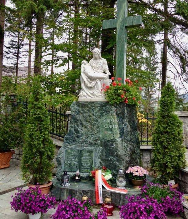 Zakopane Pieta Divine Mercy Pilgrimage Poland