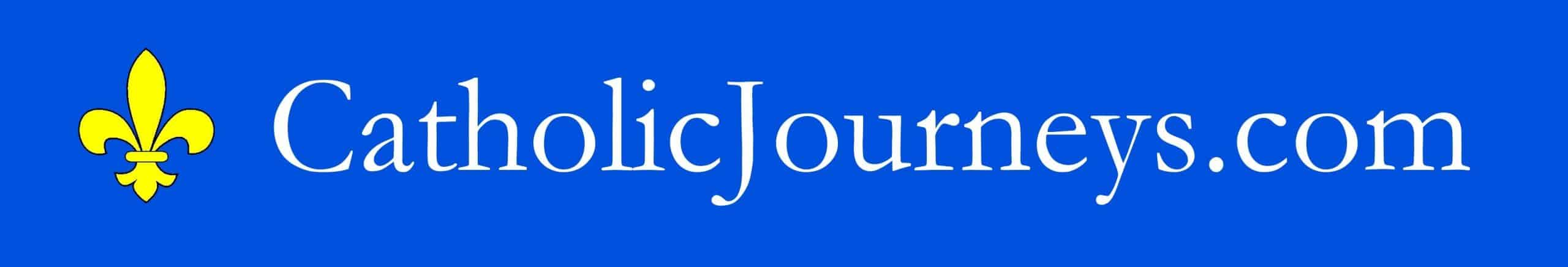Catholic Journeys logo banner