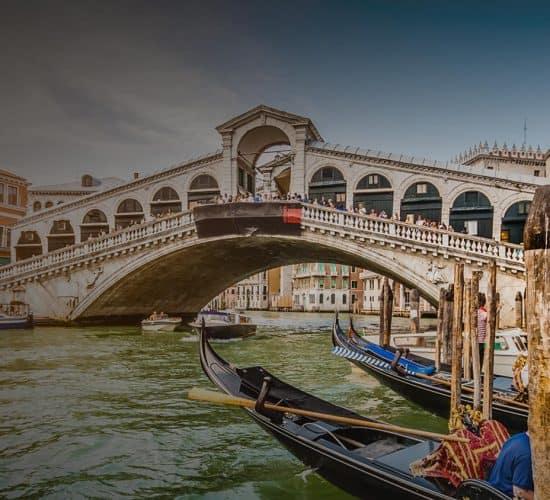 venice bridge on pilgrimage tour